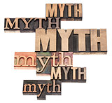 myth word abstract
