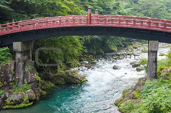 Sacred bridge Shinkyo