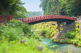 Sacred bridge Shinkyo