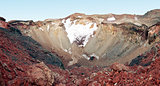Crater of Mt. Fuji