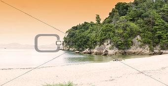 Miyajima beach