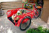 Fruit in tricycle, Hua Hin