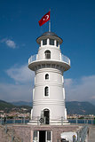 Lighthouse, Alanya Harbour