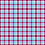 Seamless pink-blue-white geometric pattern