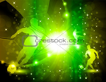Abstract soccer background eps10 vector illustration