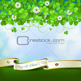 Saint Patrick&#39;s Day card