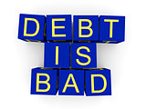 Debt is bad