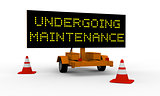 Undergoing maintenance