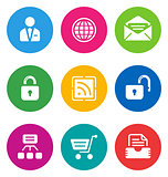 color web icons