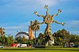 "Sun Sculpture ""Homenaje al libro Eduardo Bosca"" in Valencia"