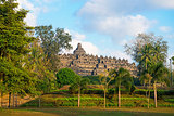Borobudur Temple. Jogjakarta, Java, Indonesia. 