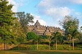 Borobudur Temple. Jogjakarta, Java, Indonesia.