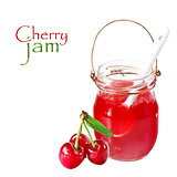 Cherry jam.