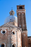 towers of Padua Cathedral in Padova