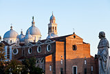 view of the Basilica of Santa Giustina, Padua