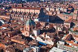 view of The Basilica of San Petronio in Bologna