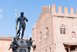 Fountain of Neptune on Piazza del Nettuno, Bologna