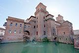 Castello Estense in Ferrara, Italy