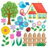 Garden theme collection 1