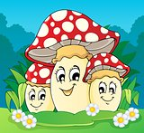 Mushroom theme image 2