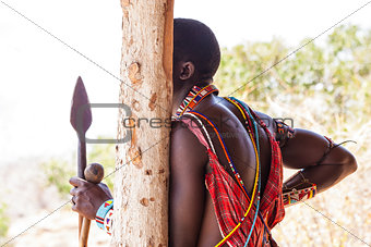 Masai traditional costume