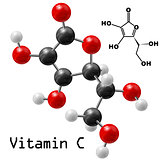 vitamin C molecule
