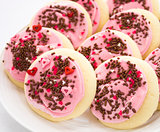 Pink Sprinkles Cookies