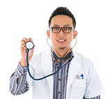 Southeast Asian medical doctor