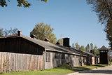Wooden barrack Auschwitz-Birkenau