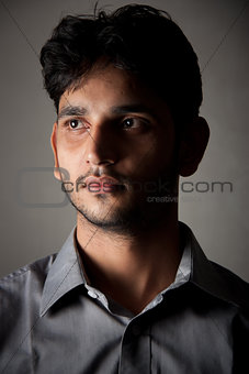 Handsome Indian man