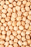 chickpea seeds background