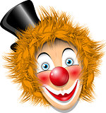 redheaded clown