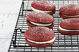 Red Velvet Whoopie Pies 2