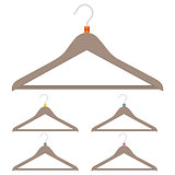 A set of hangers