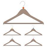 A set of hangers