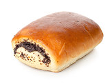 Bun with poppy seeds