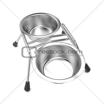 Metal Pet Bowl.