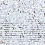 White Brick Wall Texture.