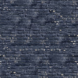 Black Brick Wall Texture.