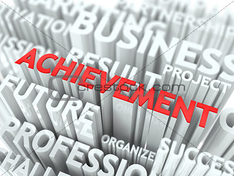 Achievement Background Conceptual Design.