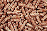 Wooden Pellets Background