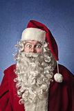 Amazed Santa Claus