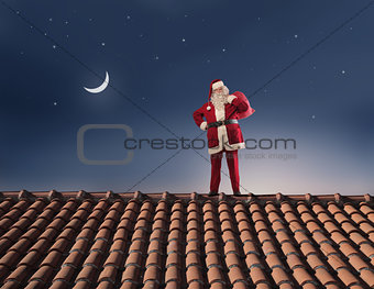 Santa Claus by Night
