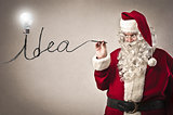 Santa Claus Idea
