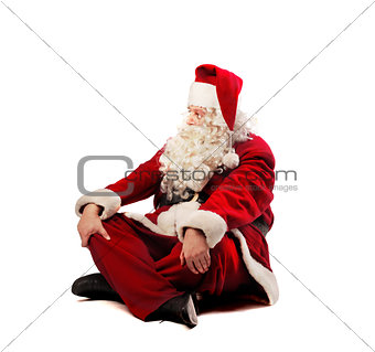 Relaxing Santa Claus
