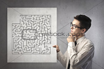 Office Worker Labyrinth