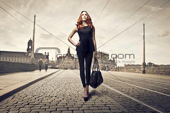 Walking on the Street