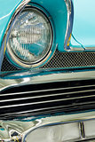 Vintage car close up