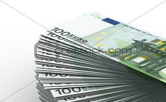 Stack of Euro