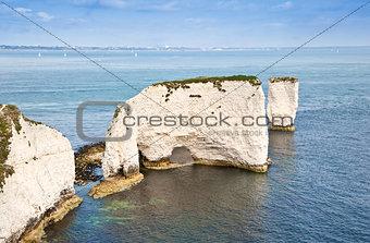 Old Harry Rocks Jurassic Coast UNESCO Dorset England